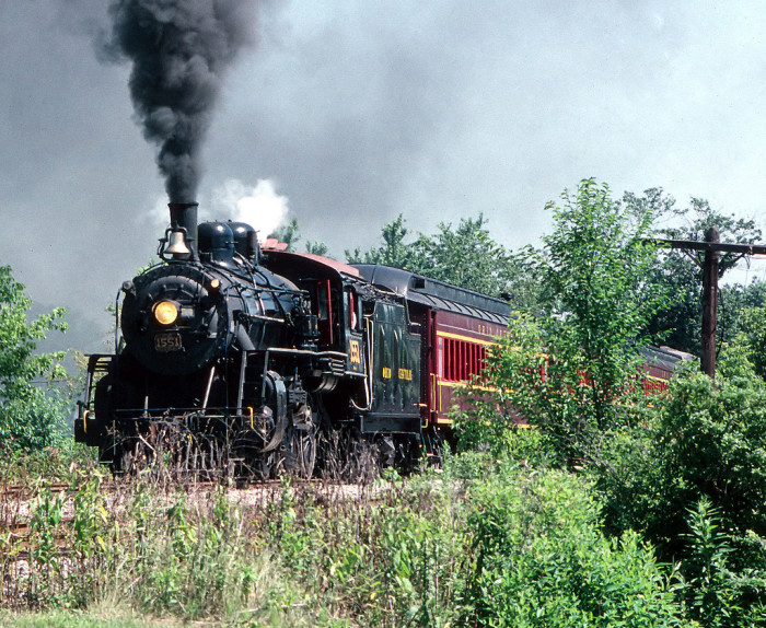 4. Ohio Central 1551 tourist train (Baltic)