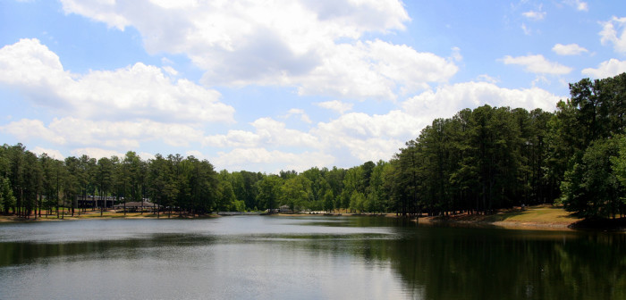 5. Out on the Lake (Gwinnett County)