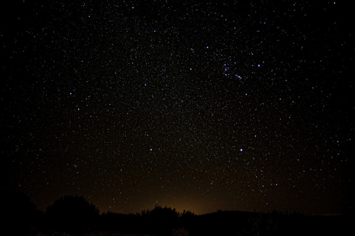 8) Everyone knows nothing compares to the never-ending night sky in the Lone Star State!