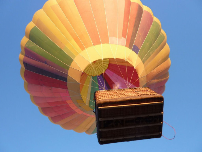 4. A hot air balloon ride in Tucson