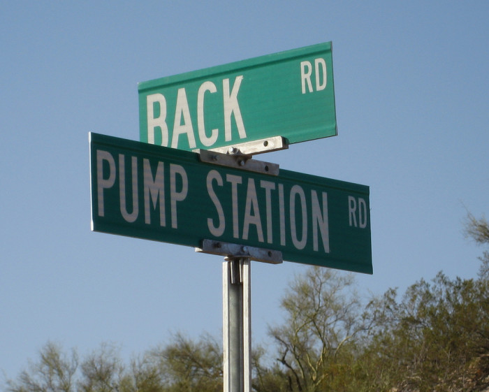 1. Back Road, Wikieup