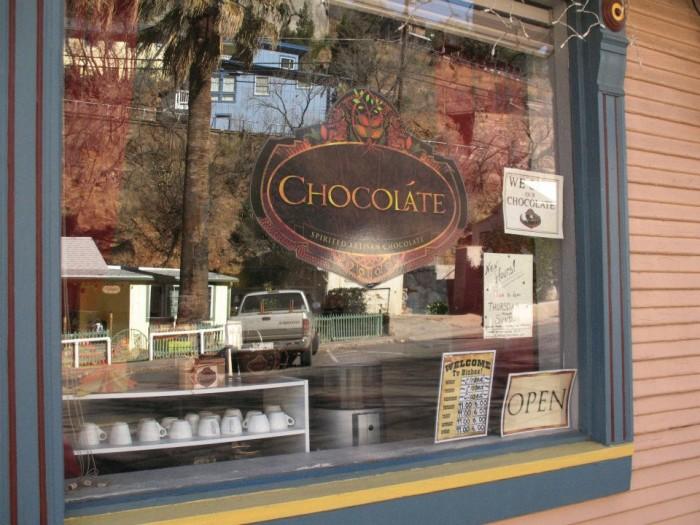 3. Chocoláte Spirited Artisan Chocolate, Bisbee