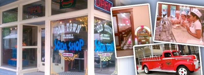 6) Old Town Slidell Soda Shop, Slidell