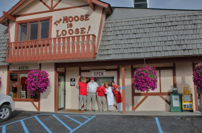 8) The Moose Is Loose