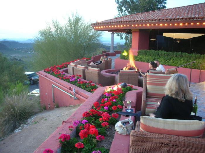 2. A fancy dinner in Phoenix