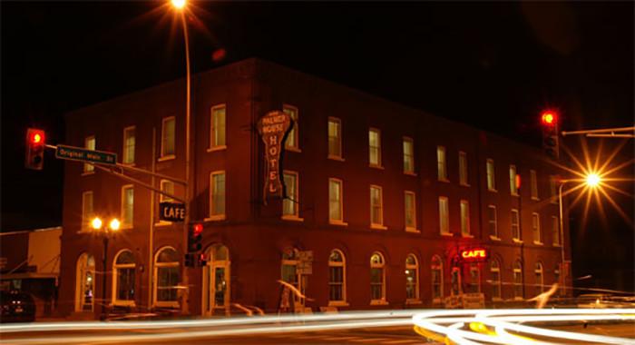 5. The Palmer House Hotel, Restaurant and Pub, Sauk Centre.