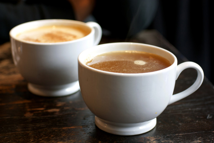 6. Sipping on a hot drink on a cool day is just so comforting!