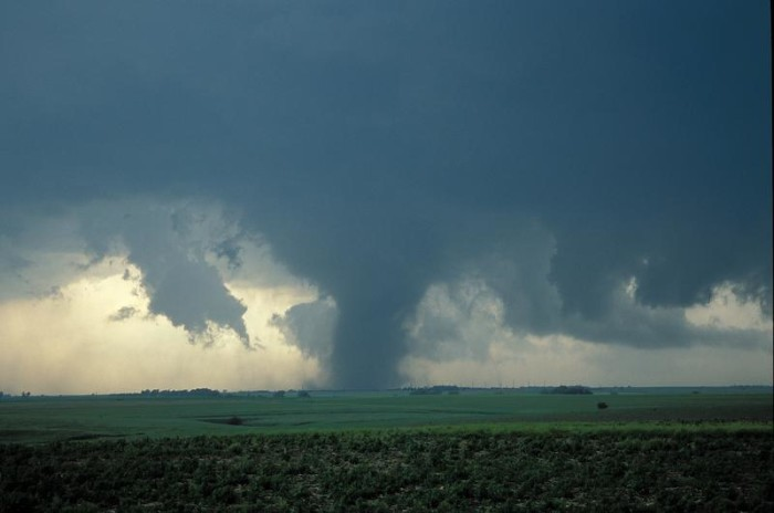 10. Being caught without a tornado plan.