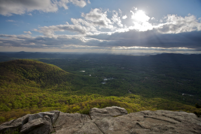 8. ...And then fly to the top of Yonah Mountain in Cleveland, GA to see God's amazing grace.