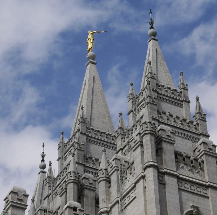 1) The nearest LDS Temple