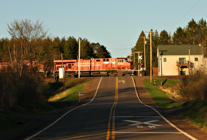 19. This is CP 490 in Culver. What an amazing shot!