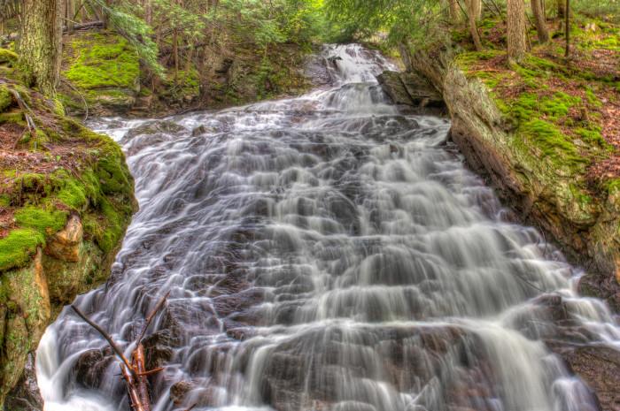 12. Thundering Brook Falls, Killington