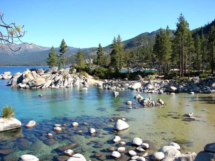 1. Sand Harbor - Lake Tahoe