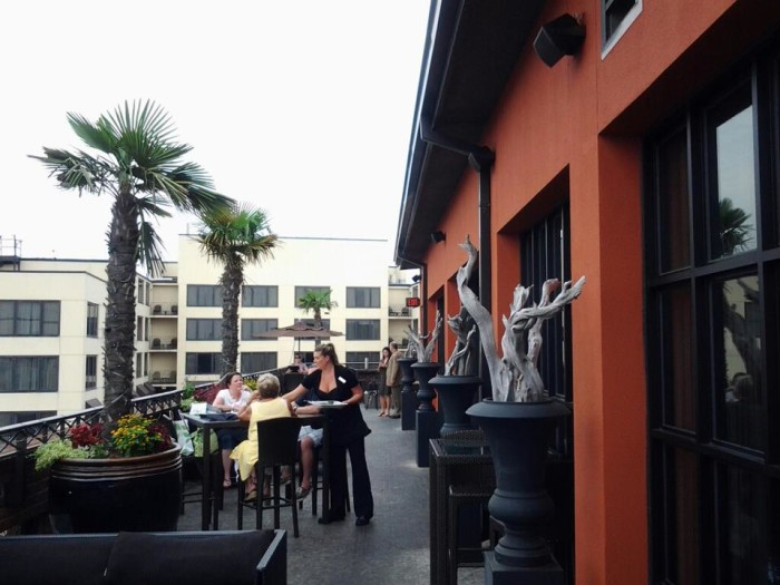 6. Rooftop Bar Bohemian Hotel Savannah