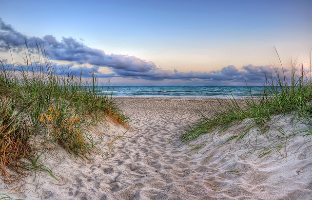 7. There's always a sandy shore awaiting us