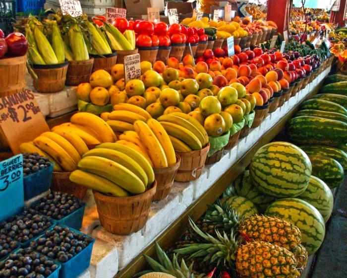 8) Healthy food