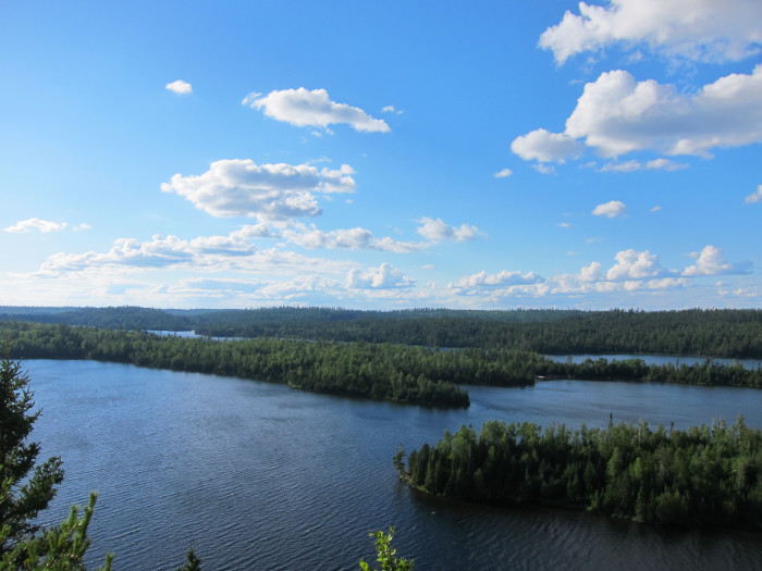 11. The view from Honeymoon Bluff Trail near the BWCA is definitely worth more than a million dollars but you can get it for just a short hike!