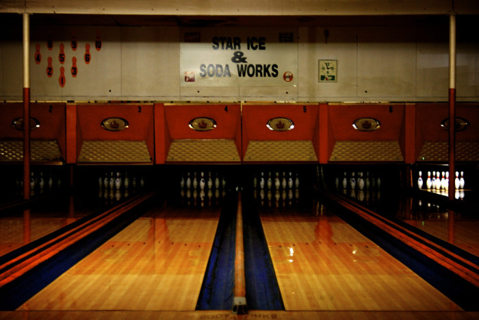 6) Or check out a local bowling alley.