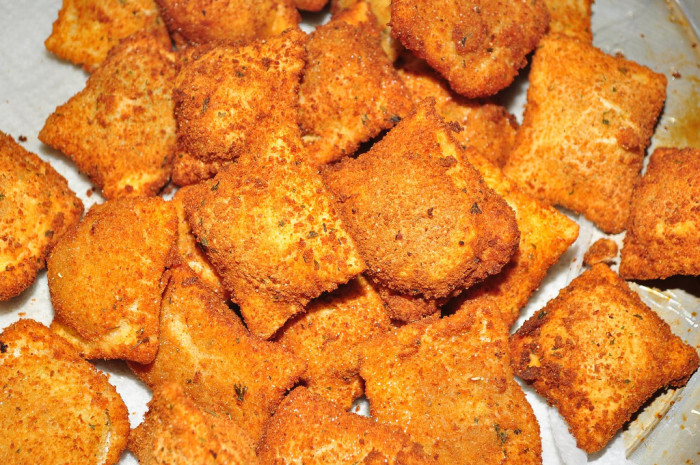 6.  You have regular cravings for toasted ravioli.