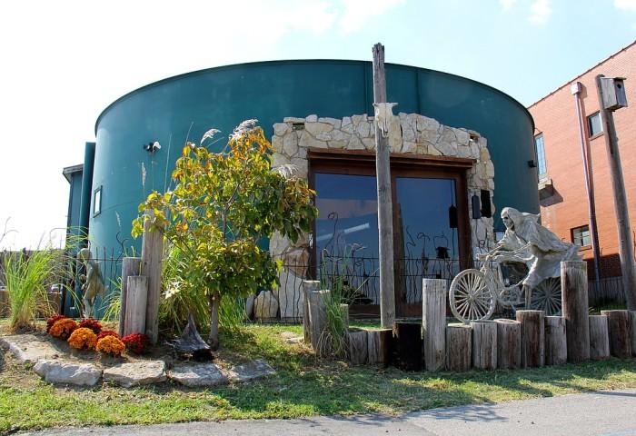 6. Water Tank Conversion in Louisiana, MO