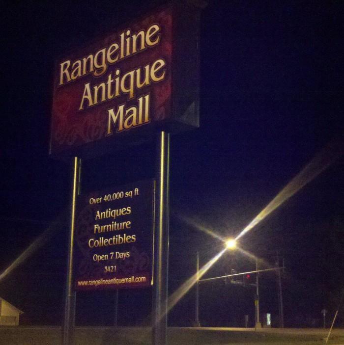 6. Rangeline Antique Mall, Joplin