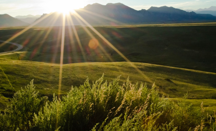 15. Colorado has an average of 300 sunny days per year.