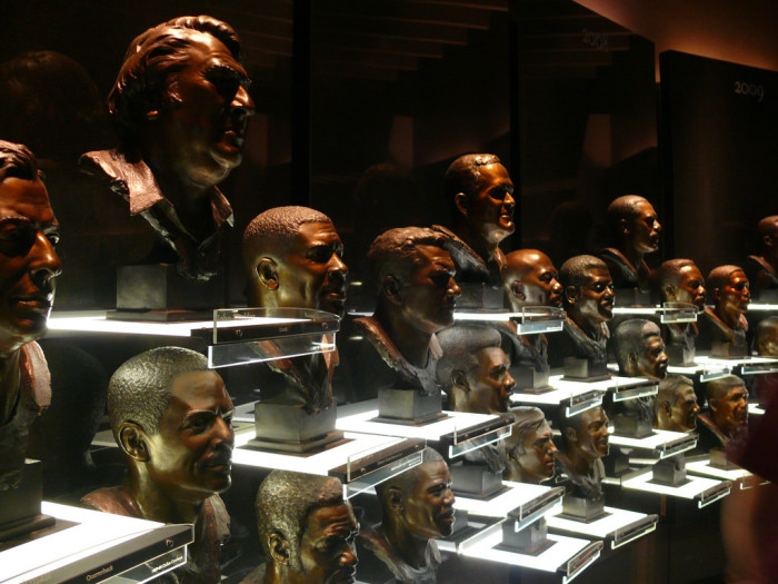 7. Also, we're home to the Pro Football Hall of Fame. (What are you home to, Michigan?)