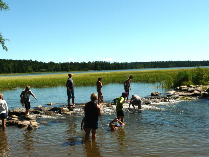 6. Seen the Mississippi Headwaters and walked across them!