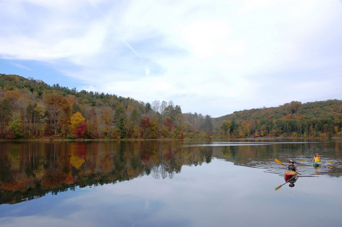 3. Rose Lake (Hocking Hills State Park)
