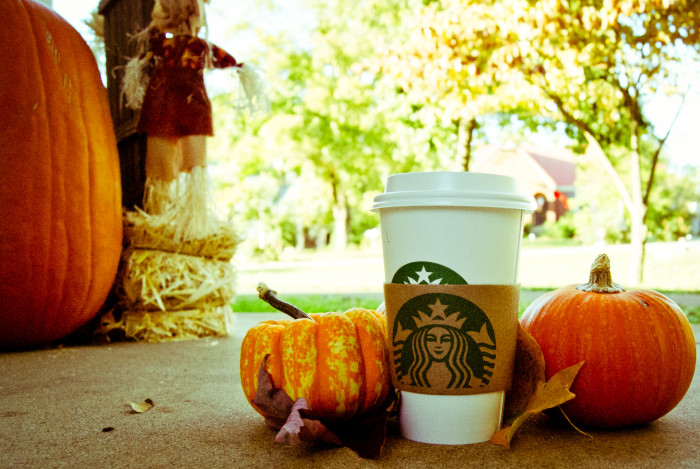 """9. We're home to the biggest coffee chain in the world who created everyone's fall favorite, the Pumpkin Spice Latte! Originally it was looked at as just an okay idea compared to other seasonal beverages, but Peter Dukes, lead developer of the drink, saw the delicious potential. The beverage - almost named """"Fall Harvest Latte"""" - first became a hit in 2003 and has been widely enjoyed ever since!"""