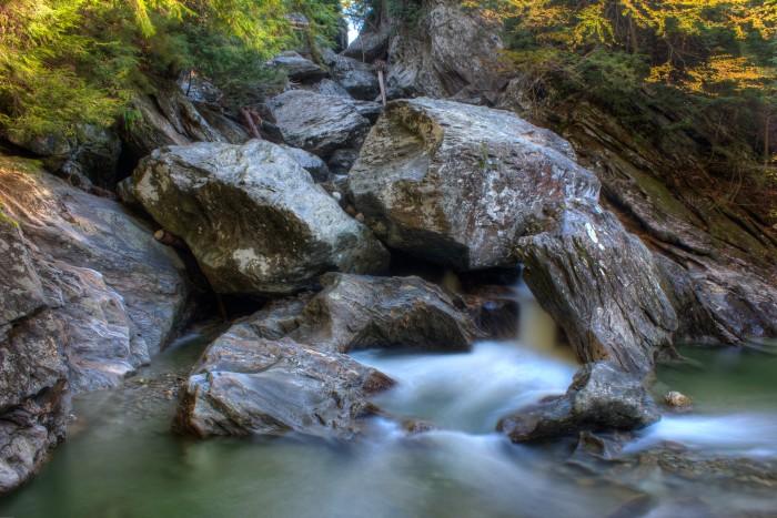 14. Jefferson Falls, Brewster River Gorge, Cambridge