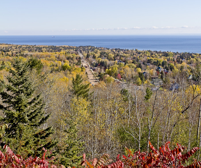 10. Driving up near Hawk Ridge Bird Observatory in Duluth will provide sweeping views of the North Shore.
