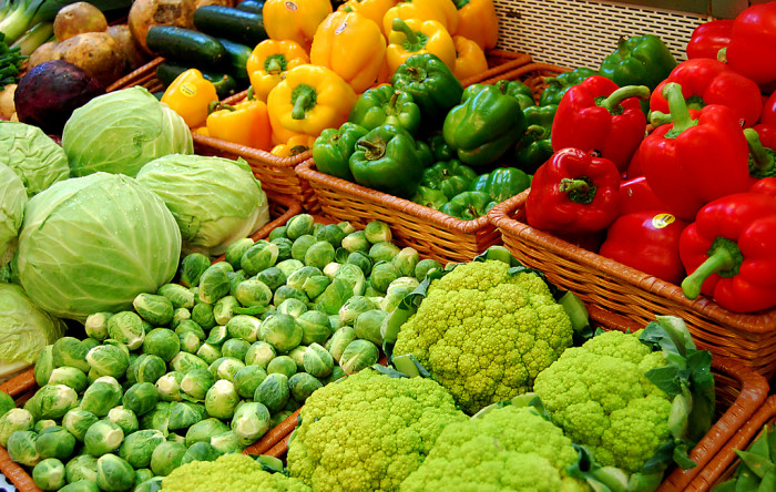 6. Fresh produce from the local farmers market.