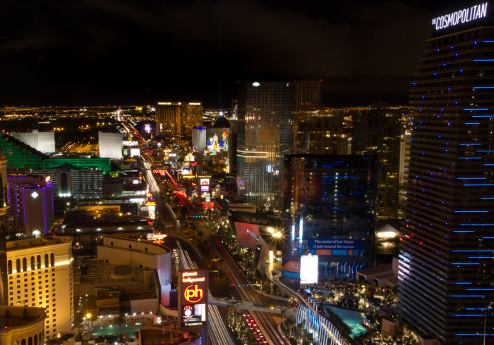 13. In Nevada, mostly within the Las Vegas and Reno areas, you'll enjoy a wide variety of entertainment.
