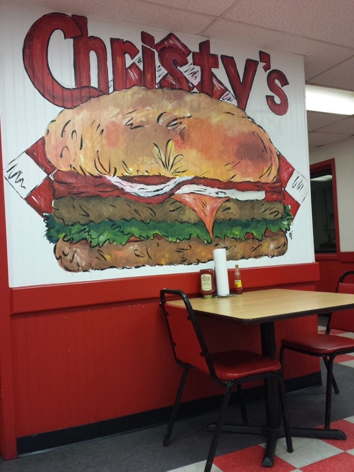 6. Christy's Hamburgers, Starkville