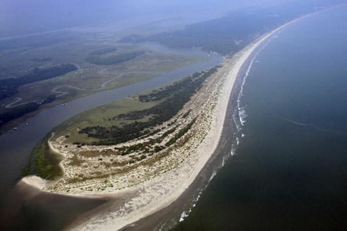 2. Any one of South Carolina's barrier islands.