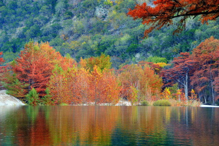 10 State And National Parks In Texas With Beautiful Fall ...