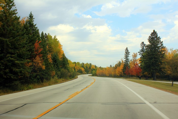 6. But any road to Duluth is bound to be gorgeous in the fall, just take any parallel to 35.