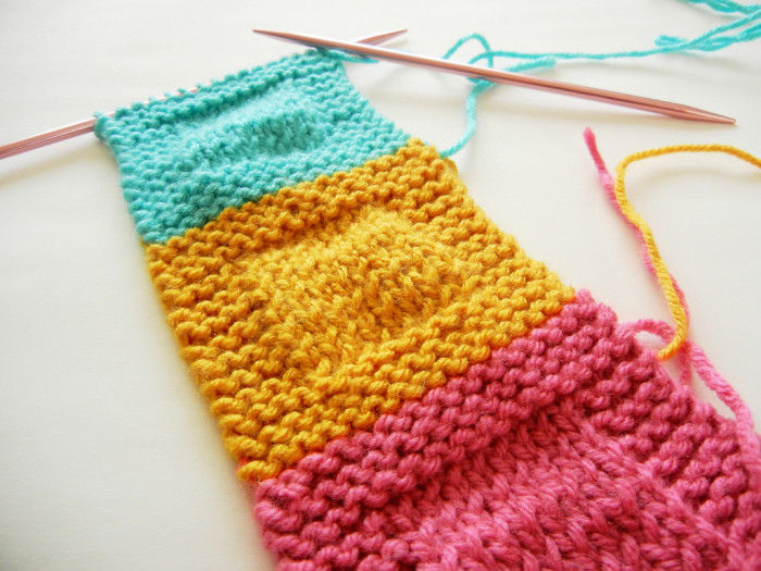1) Learn to knit.