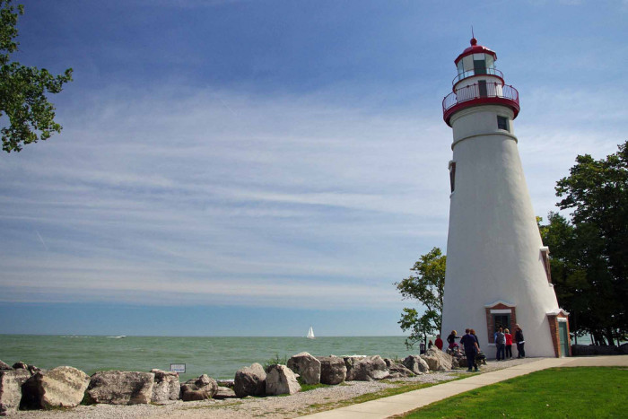 4. Have a lakeside picnic and tour Marblehead Lighthouse.