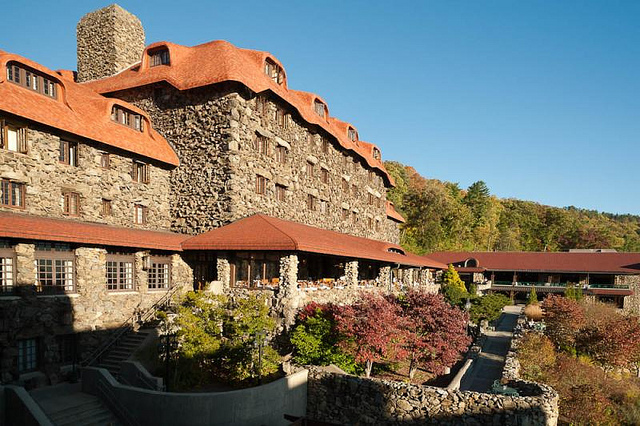 15. Or spend the weekend ghost hunting at a haunted hotel!