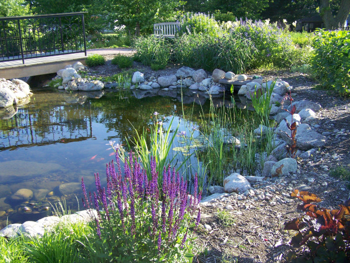 12. Central Gardens of North Iowa, Clear Lake