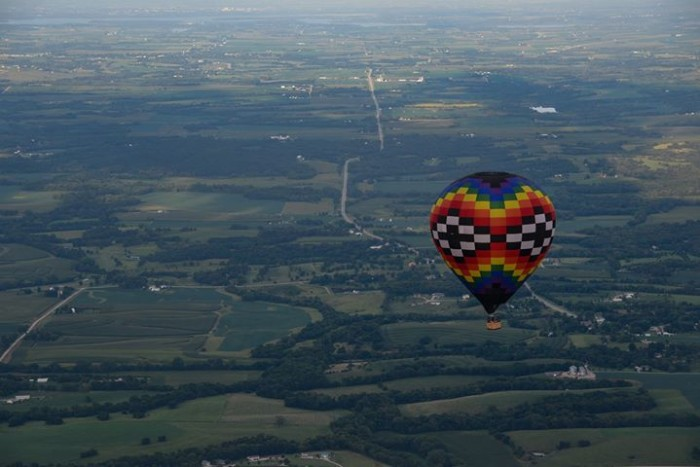13. Indianola during the National Balloon Classic
