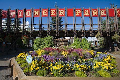 3) Pioneer Park in Fairbanks