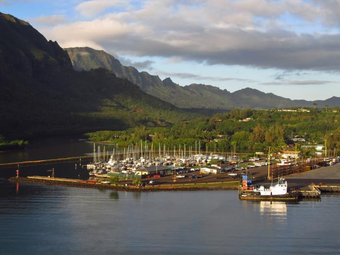 7) Nawiliwili Harbor, Kauai