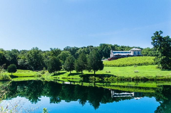 7. Visit a beautiful winery just outside of St. Louis in Defiance.