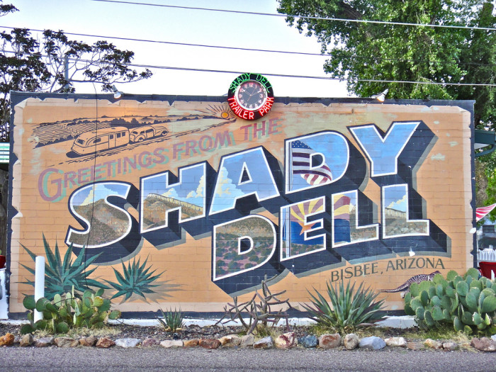 11. The Shady Dell, Bisbee