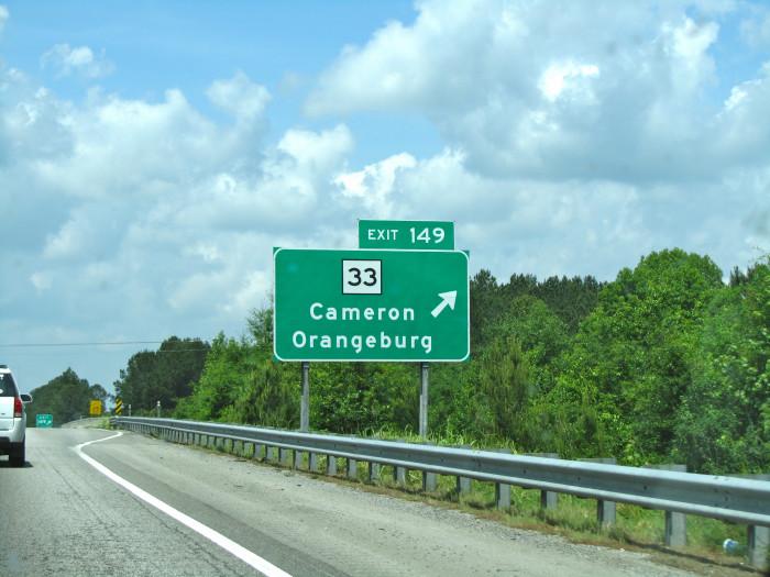 13. Orangeburg County