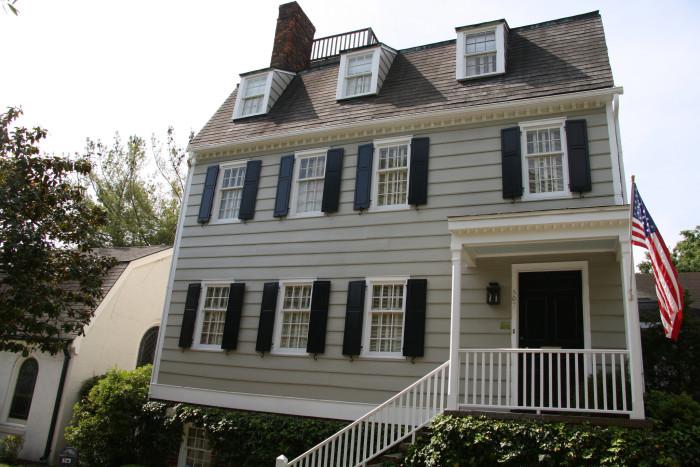 9. Hampton-Lillibridge House in Savannah, GA