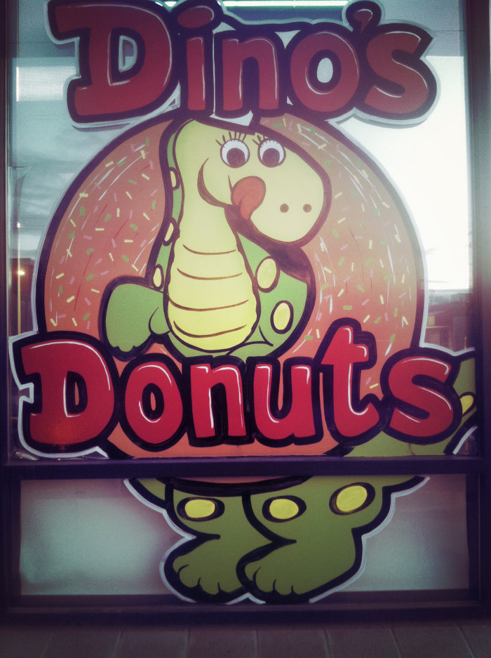 1) Dino's Donuts - Anchorage